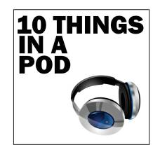 10 Things In A Pod